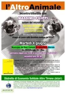 L'Altro Animale - Incontro con Massimo Filippi