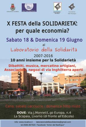 festa solidarietà livorno 2016